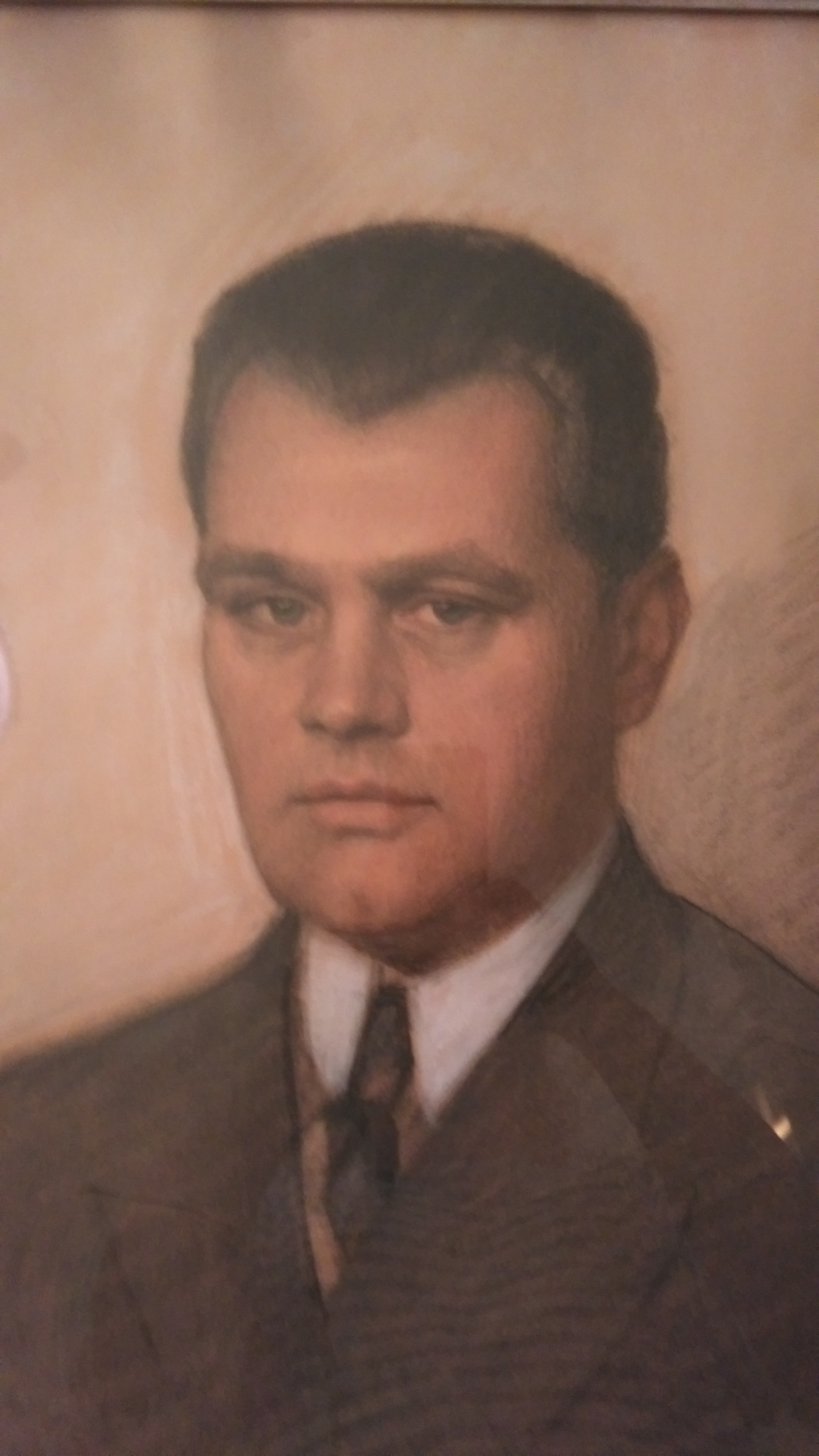 Portrét Josefa Apolla Růžičky z roku 1937 (archiv rodiny)