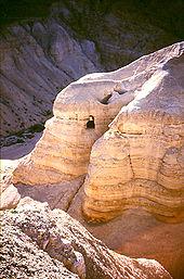Kumránské jeskyně (Wikiepedia)