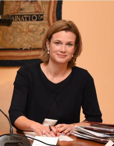 Koordinátorka Evropské komise pro boj s antisemitismem Katharina von Schnurbein