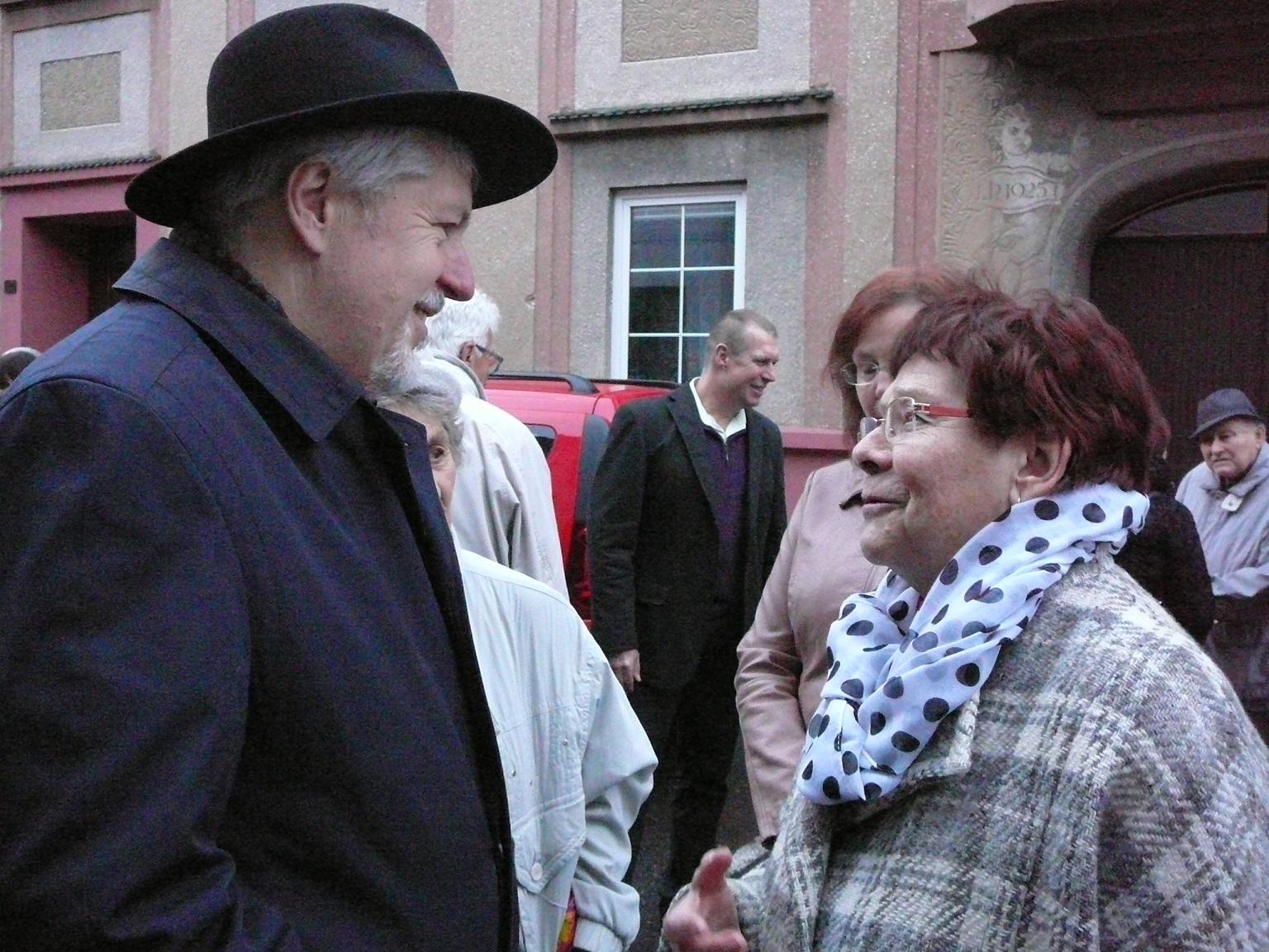 Iniciátor akce Julius Müller (foto Alice Müllerová)