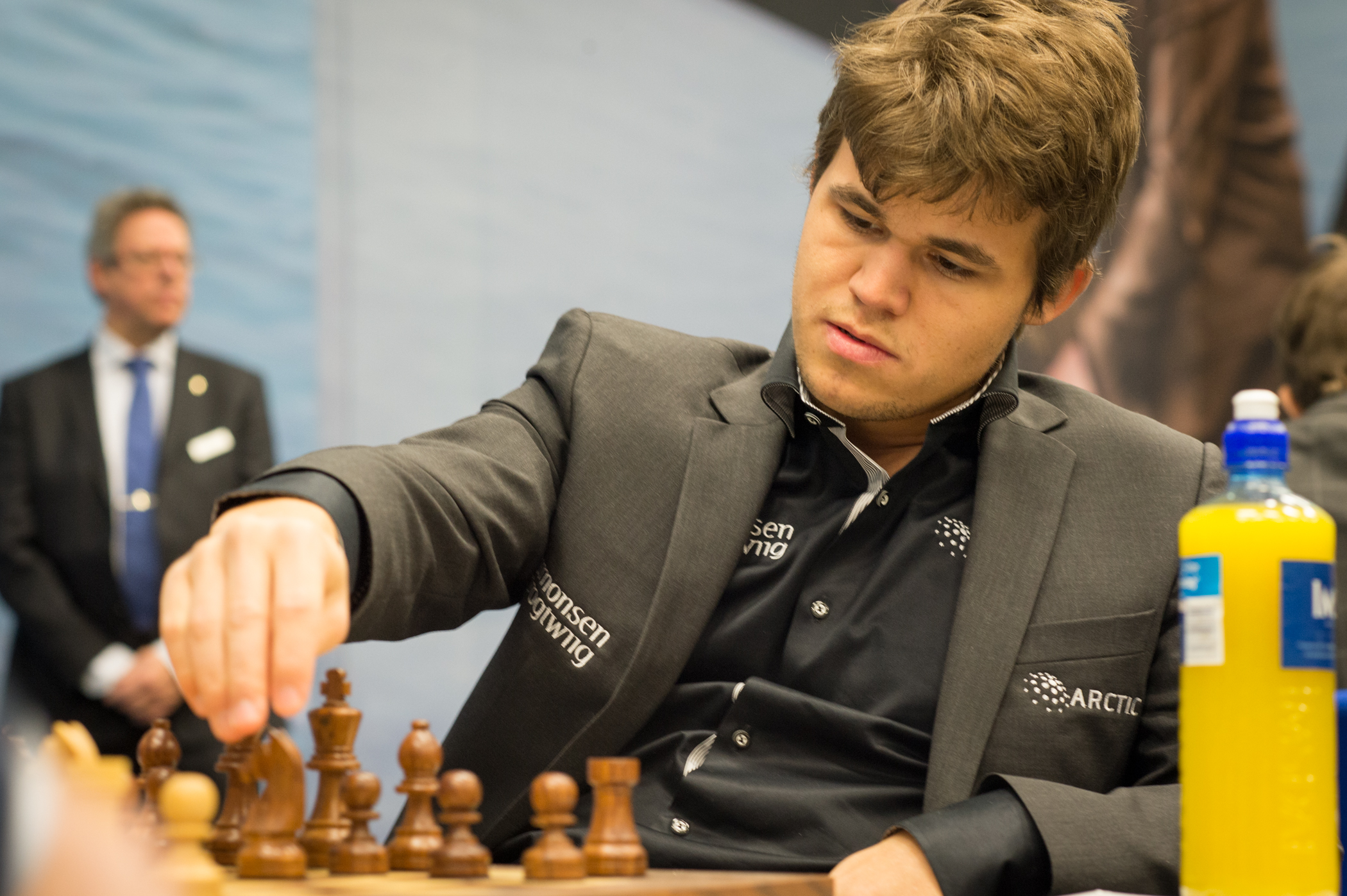 Magnus Carlsen (Photo courtesy of WikiMedia Commons)