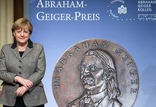 Merkel_AbrahamPreis
