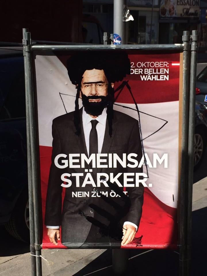 Plakat volby Rakousko 1