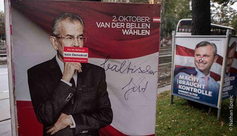 Plakat volby Rakousko 2