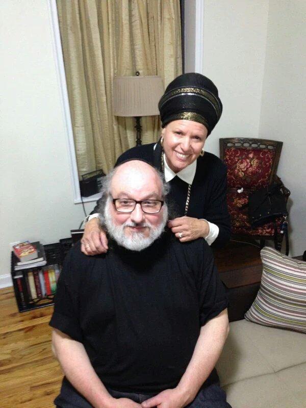 Jonathan Polard s manželkou