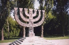 Pomník v Babím Jaru