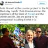 Červená karta každoročnímu pochodu Al Quds vBerlíně