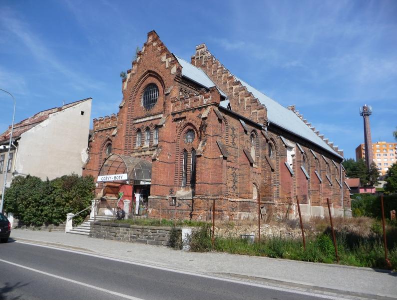 Synagoga ve Velké Meziříčí (zdroj www.dedictvivysociny.cz)