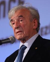 Elie Wiesel na konferenci Forum 2000 (archiv Nadace Forum 2000)