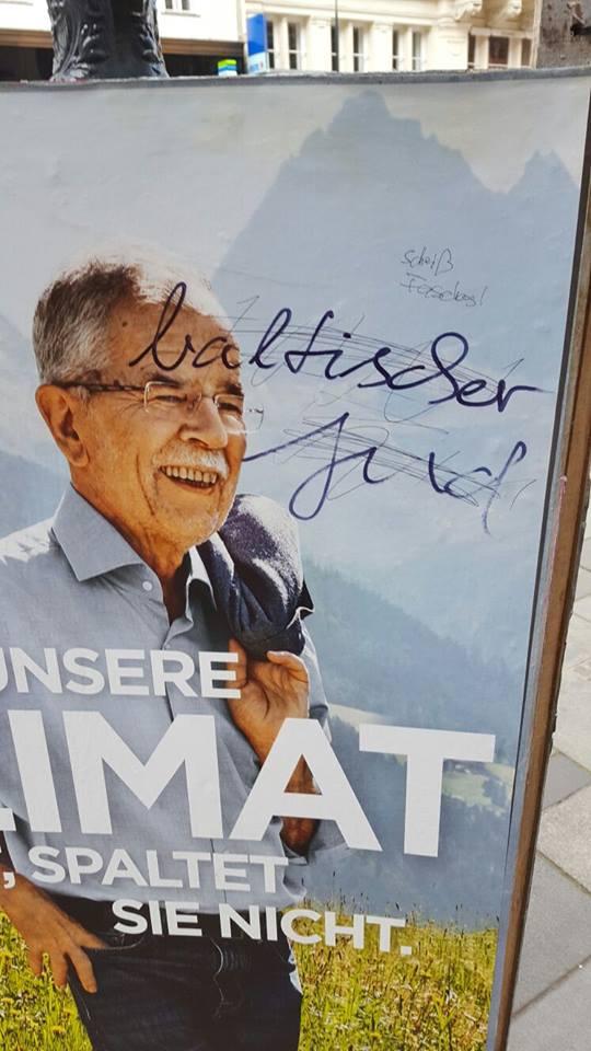 volební plakát_Alexander Van der Bellen